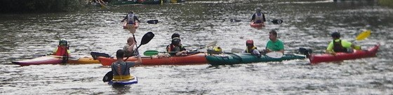 Kanupiraten 2017 - Enterübung